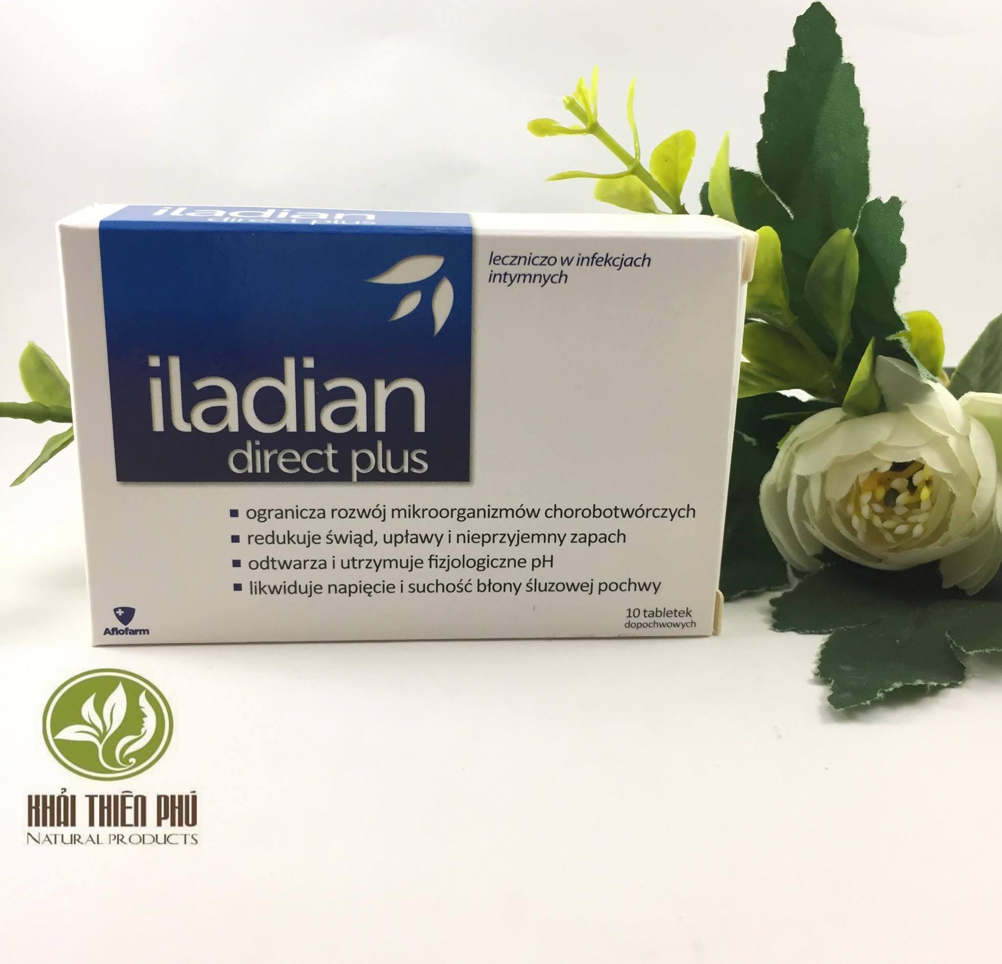 Viên đặt phụ khoa Iladian hàng Balan