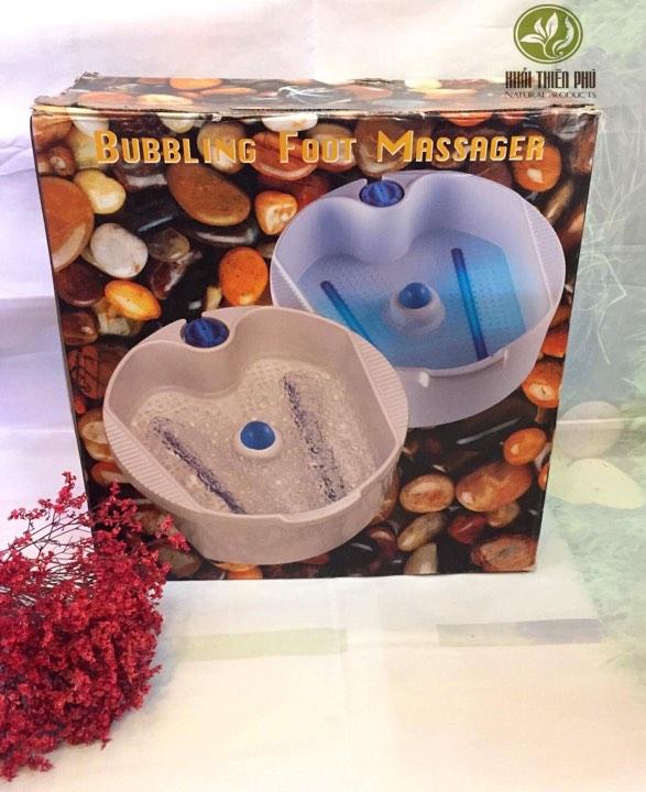 Bồn ngâm chân massage Bubbling