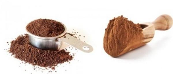 Tẩy tế bào chết bằng bã cafe và đường nâu