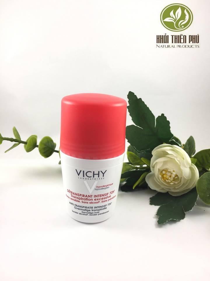 Lăn khử mùi Vichy Deodorant Anti-transpirant 48h