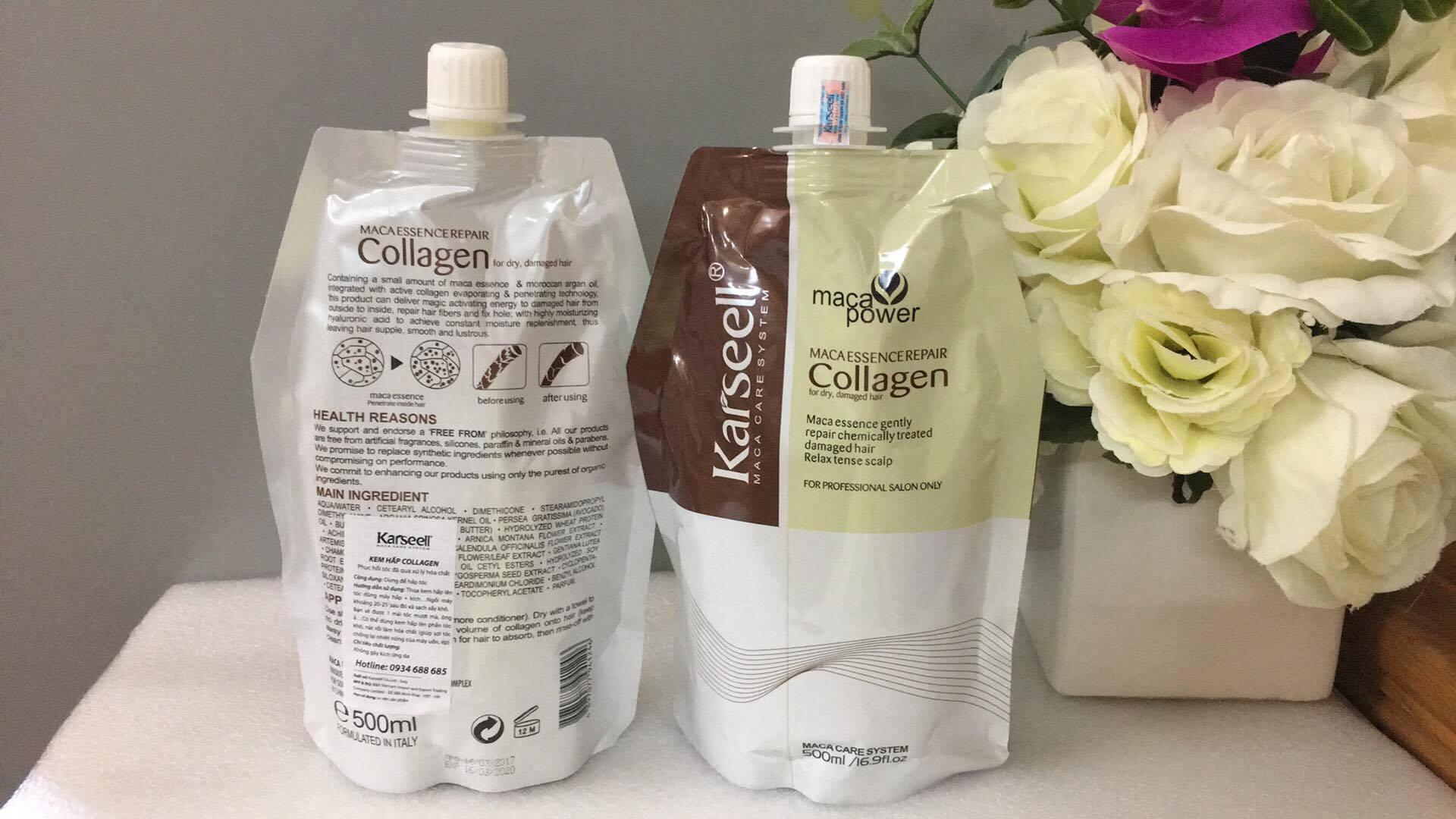 Kem hấp tóc Karseell Collagen