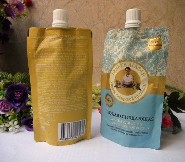 Mặt nạ sữa non bà già Agafia của Nga