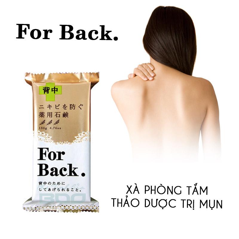 Xà phòng trị mụn ở lưng Pelican ForBack Medicated
