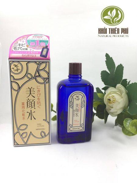 Nước hoa hồng trị mụn Meishoku Bigansui