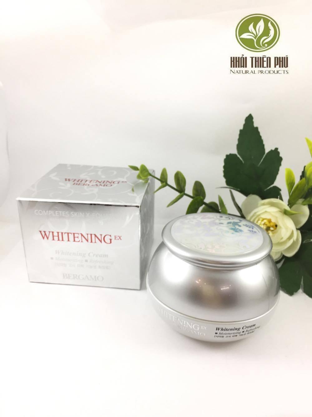 Kem trắng da Bergamo Whitening