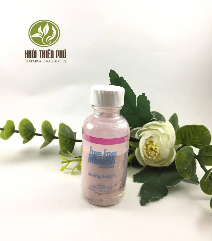Trị mụn Bye Bye Blemish Drying Lotion