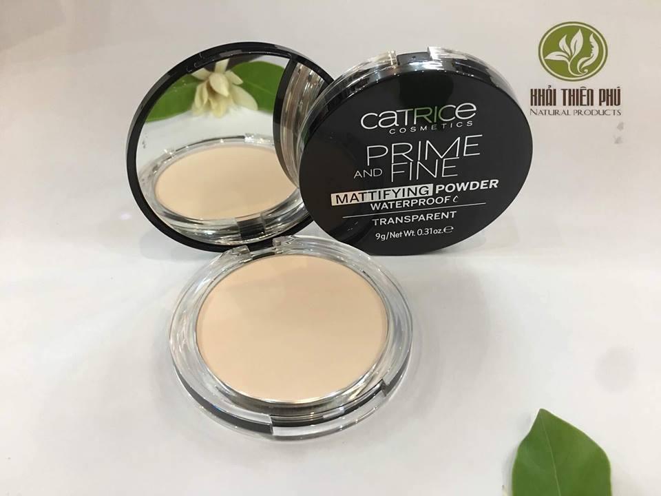 Phấn phủ chống thấm nước Catrice Prime And Fine