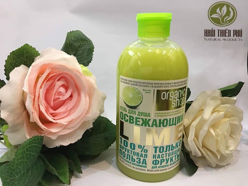 Sữa Tắm Dạng Gel Organic Shop Body Wash