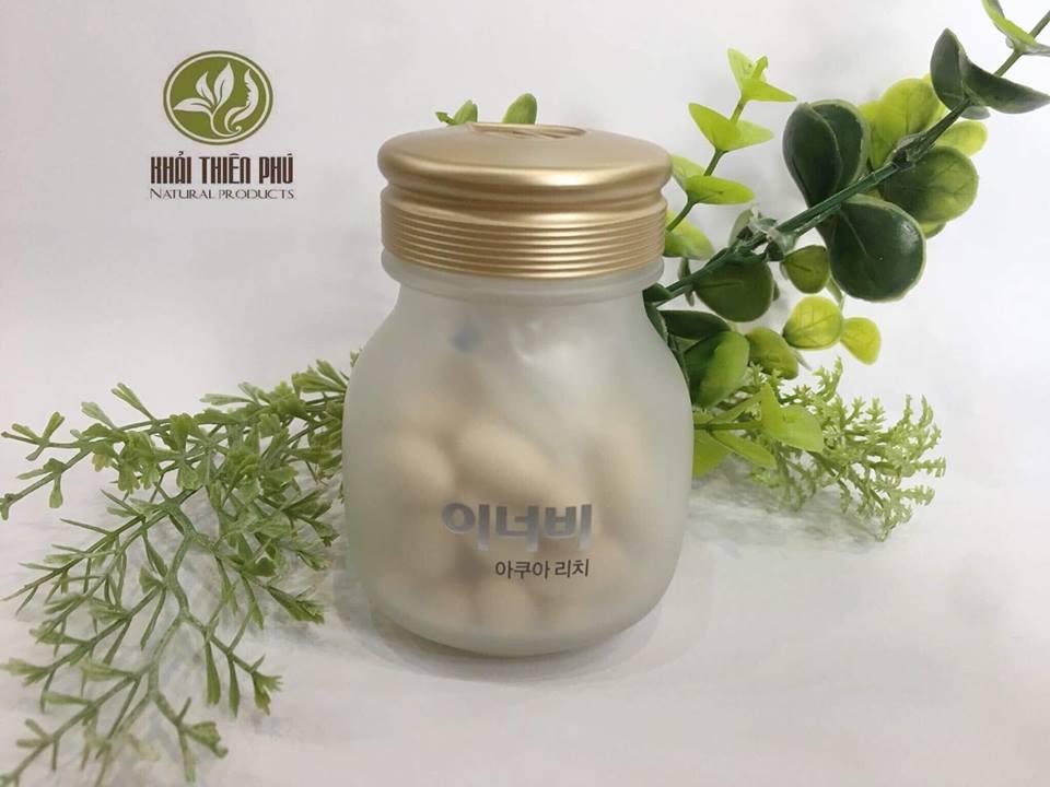 Viên uống cấp nước collagen Hàn Quốc Innerb Aqua Rich