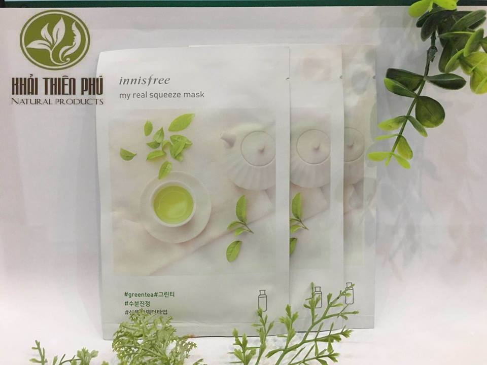 Mặt nạ giấy Innisfree ( 10 miếng)
