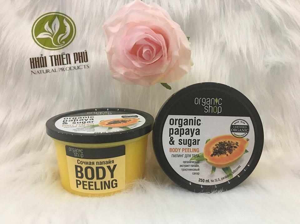 Tẩy Da Chết Body Toàn Thân Organic Shop