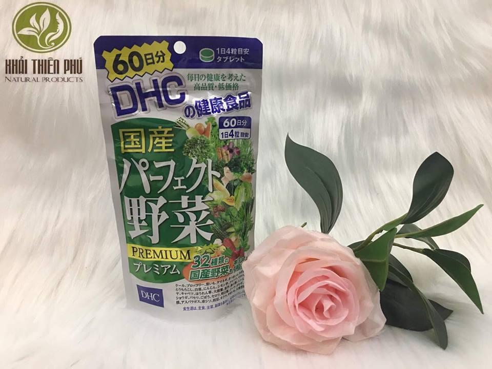 Viên Uống Trắng Da Rau Củ Quả DHC Nhật Bản