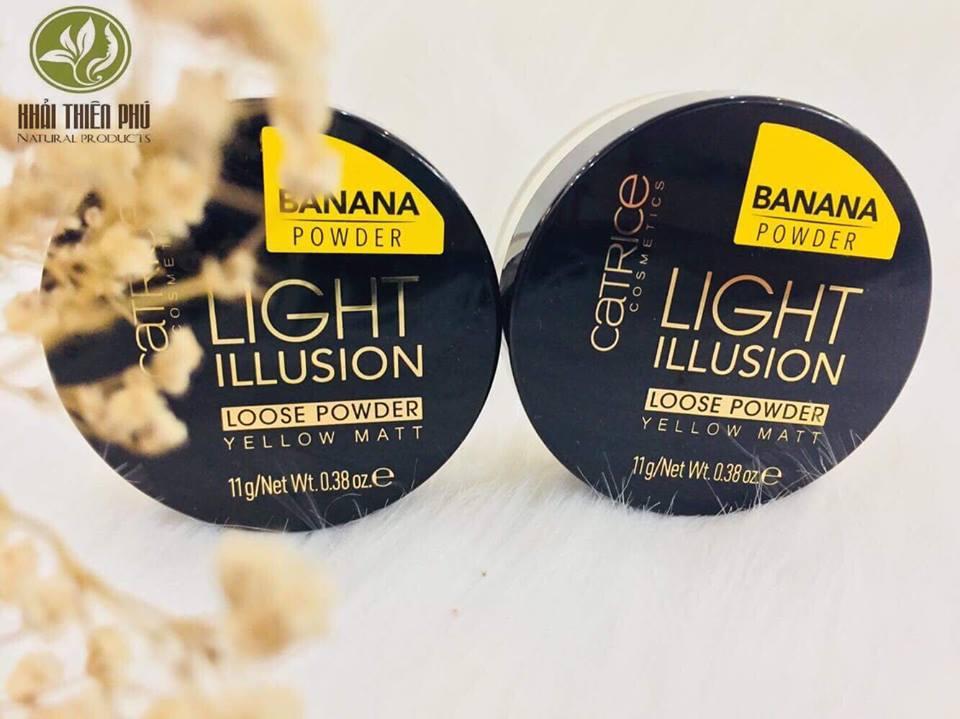 Phấn Bột Catrice Light Illusion Loose Powder