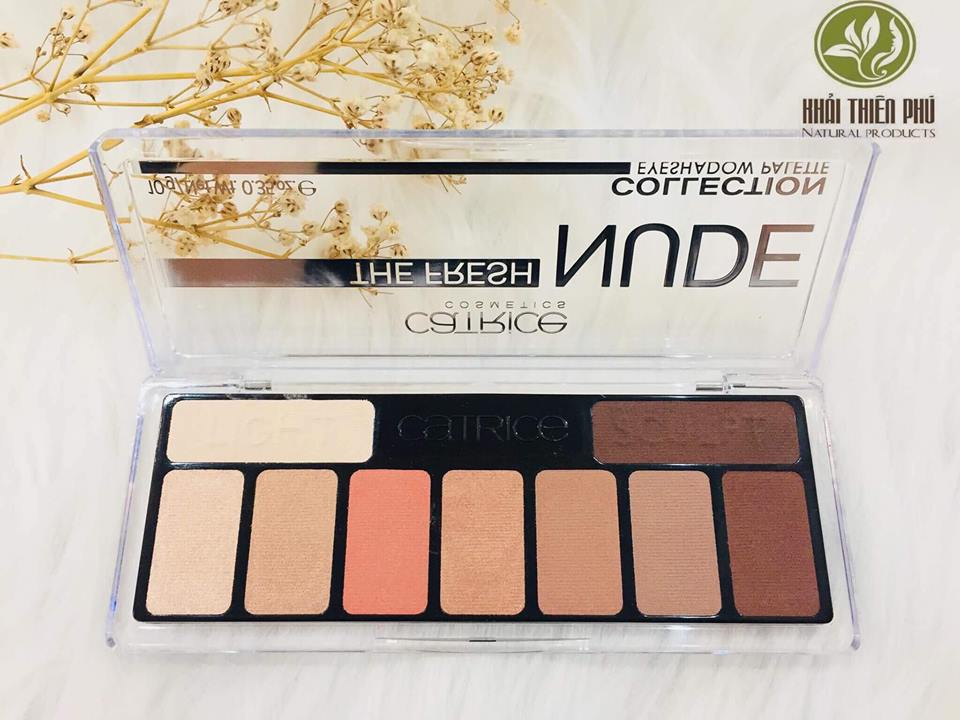 Bảng Phấn Mắt Catrice The Fresh NUDE Collection