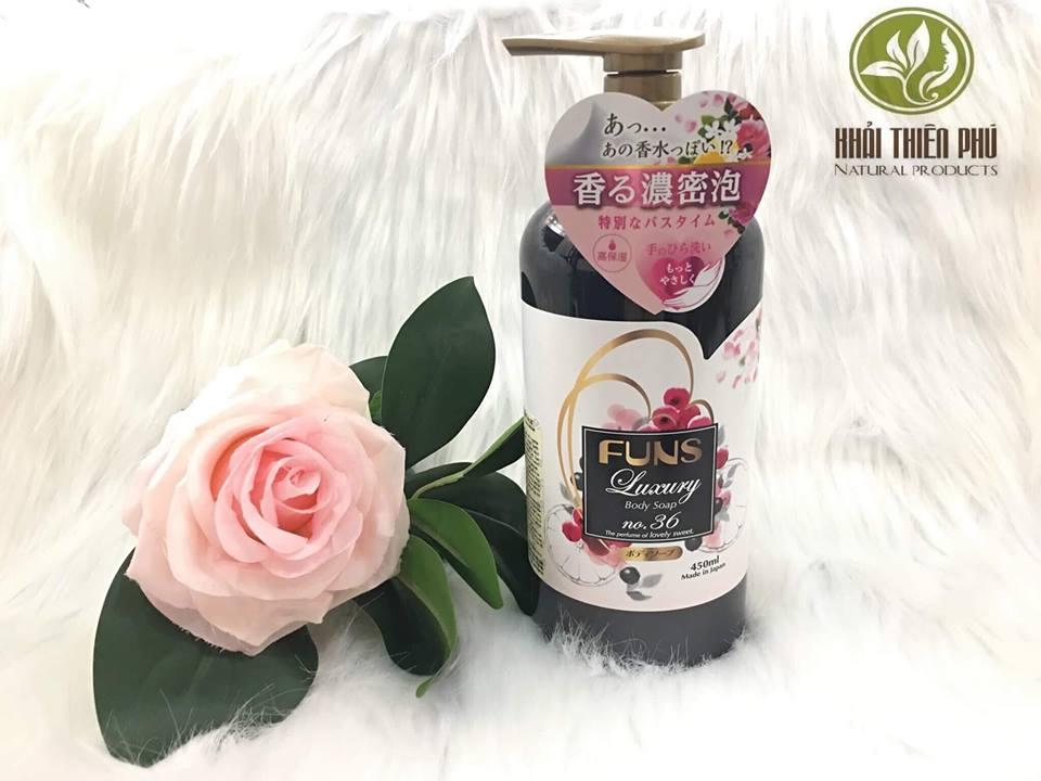 Sữa Tắm Chiết Xuất Từ Thiên Nhiên - Nhật Bản