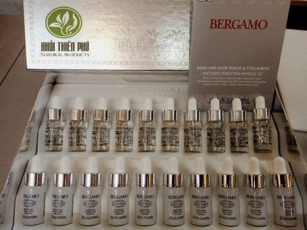 Serum Bergamo Snow White Whitening Perfection
