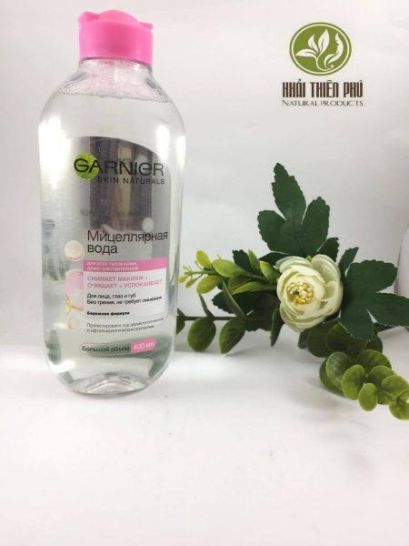 Nước tẩy trang Garnier Micellar