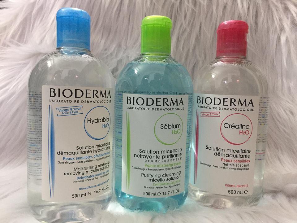 Nước Tẩy Trang Bioderma – 500ml