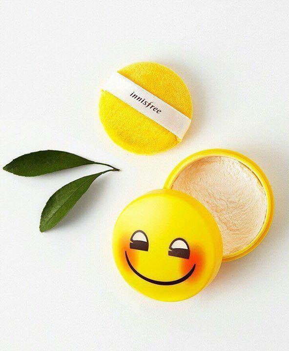 Phấn bột kiềm dầu Innisfree x Emoji No-Sebum Mineral Powder