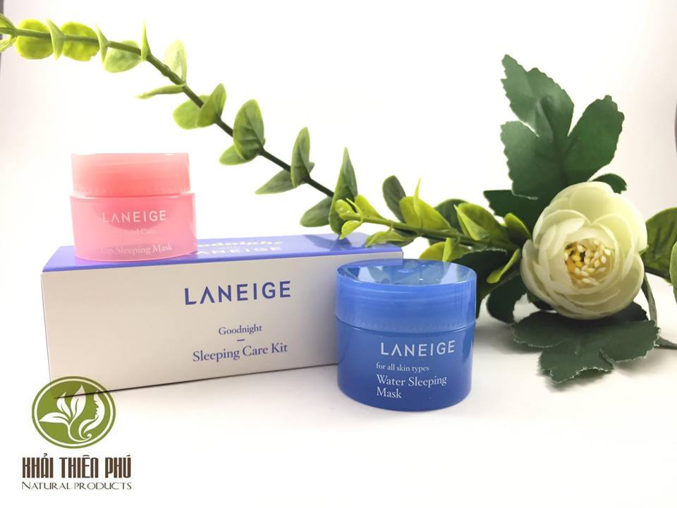 Bộ mặt nạ ngủ Laneige Goodnight Sleeping Care