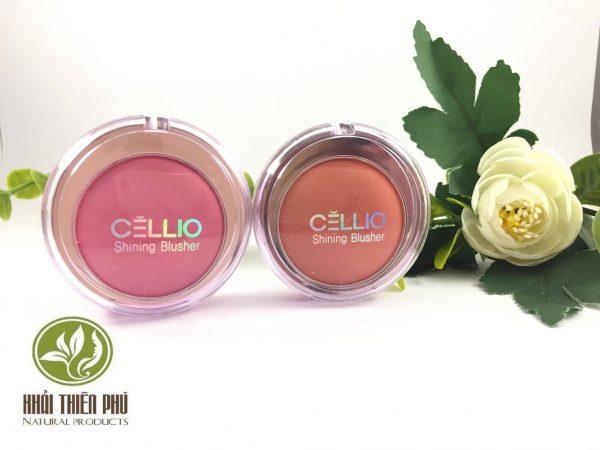 Phấn má ngọc trai Cellio Shining Blusher (Loại Nhỏ)
