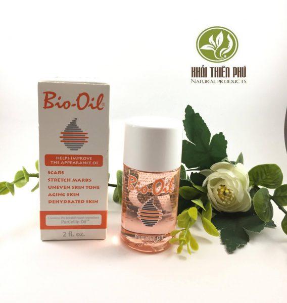 Tinh dầu Bio-Oil làm mờ sẹo, thâm nám, vết rạn da