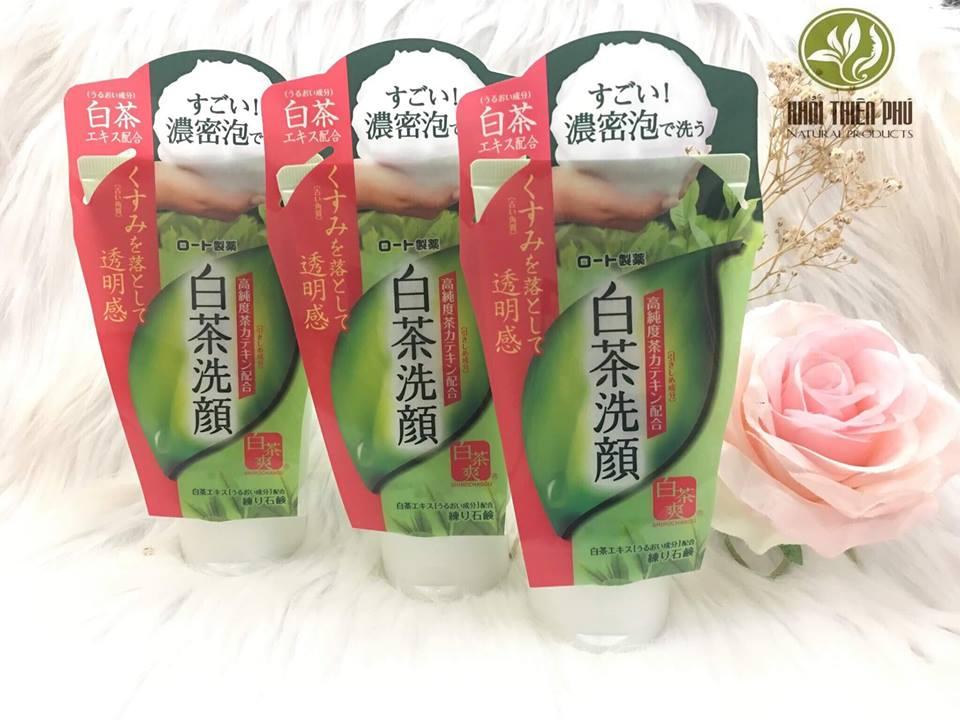 Sữa rửa mặt Matcha trà xanh của Nhật