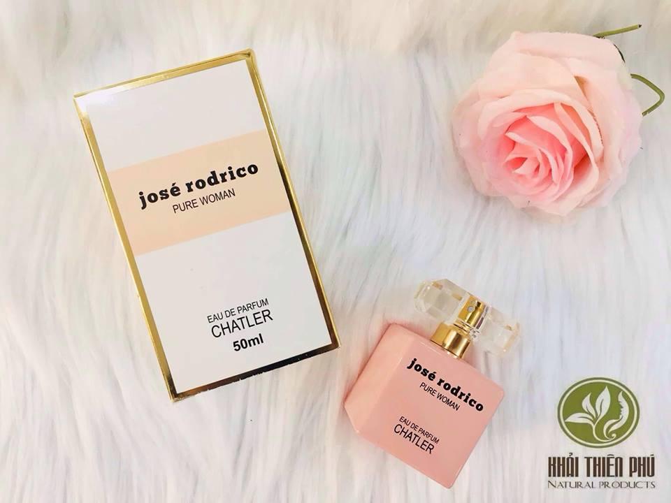 Nước Hoa Nữ Jose Rodrico Pure Woman  – Pháp 50ml