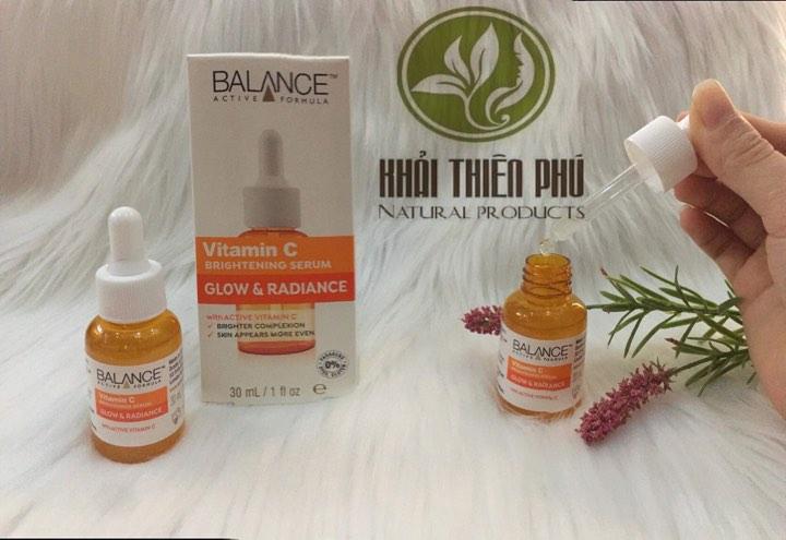 Serum Vitamin C Balance Active Formula Dưỡng Sáng Da, Mờ Thâm