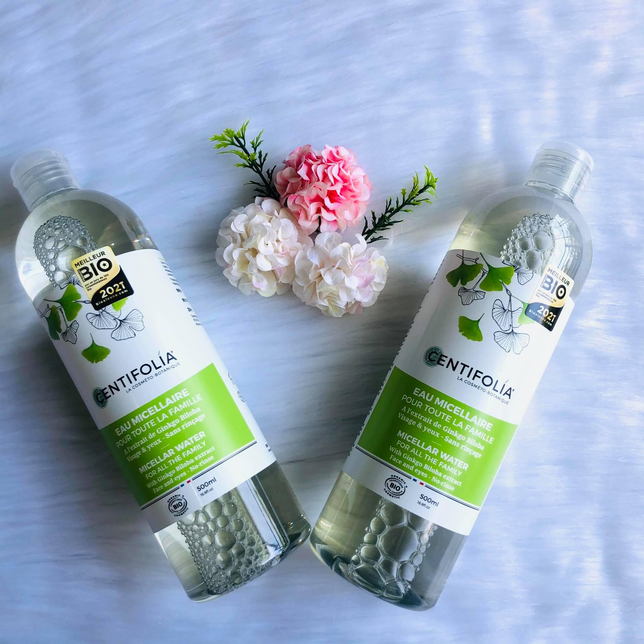 Nước tẩy trang rau má centifolia pháp 500ml